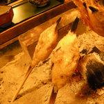 能登半島  郷土料理の宿 さんなみ - 海餅(かいべい)アップ
