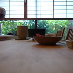鮨処 たかはし - ☆白木のカウンターも良い感じです(#^.^#)☆