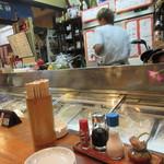 漁師茶屋 桜島 - 3人での利用だったんで私達はカウンターを利用させていただいての飲み会になりました。