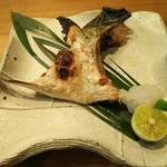 一心 - かま塩焼き(750円)
