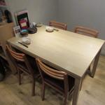 食楽厨房 あんばい - カウンター席・テーブル席・座敷が有ります♪