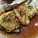 食楽厨房 あんばい - 【米茄子と豚角煮の生湯葉チーズ焼き 820円】