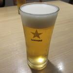 食楽厨房 あんばい - 【サッポロ生ビール 520円】