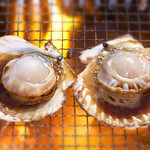 漁火 - 女性人気第一位!北海道産ホタテの浜焼