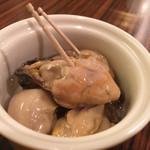 大和亭 - 牡蠣のマリネ650円