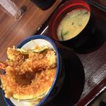天丼てんや シャポー本八幡店 - 天丼(^∇^)