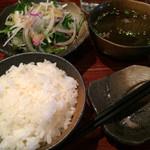 肉ダイニング RAKUGAKI - スタミナ焼定食1,000円(税込)