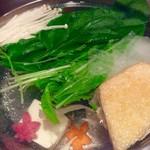 58634571 - 鍋に野菜類を投入。<2016/11/10>