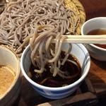 なゝ樹 - 日替わり定食(メバル味噌焼・サンマフライ+蕎麦+とろろ+ご飯+香の物)850円ざる蕎麦リフトアップ