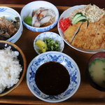 あまえんぼ - 料理写真:トンカツ定食