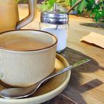 カフェ ブボ セカンドハウス - カフェオレ   セットのドリンクです。