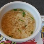 ブロンコビリー 鳴海店 - ランチスープ(2016年11月)