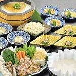 八かく庵 - ありたどりと京野菜の生姜豆乳鍋』すっきりオトナの味の豆乳鍋プラン
