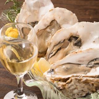 全国の新鮮な生牡蠣をご用意♪