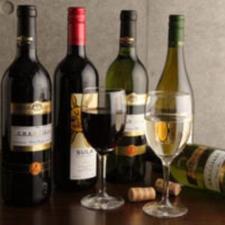 話題のインドワイン「SULA」もご用意しております♪