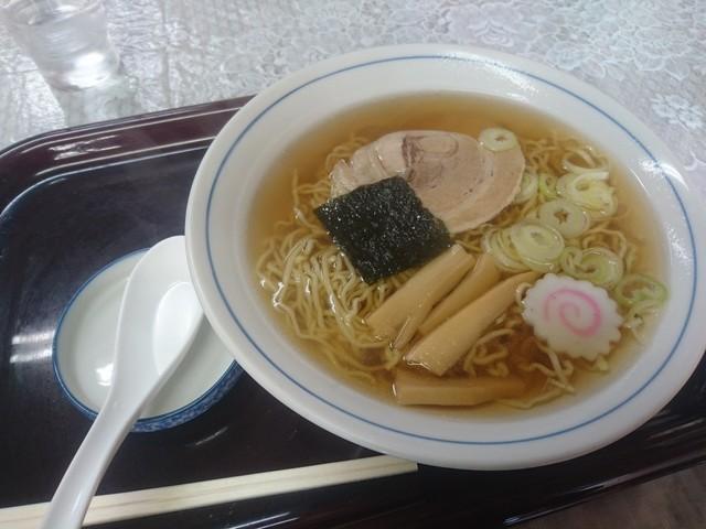 松の食堂 - あっさり魚介スープです