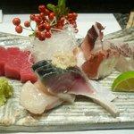 寿司割烹 小松 - お造り盛り合わせ