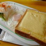 58655390 - チーズトースト