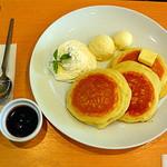 58657105 - 北海道ブルーベリーパンケーキ