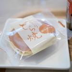 久緒羅珈琲 - 和菓子付き:どら焼