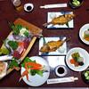 湯の網温泉 鹿の湯松屋 - 料理写真:夕食(2016年11月)