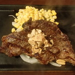 いきなり!ステーキ - USアンガス牛サーロインステーキ