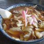 釜彦 - スープ入り焼きそば 750円