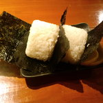 串かつ ふなこし 六甲道 - おにぎり(2010,11)