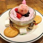 TOWER RECORDS CAFE - 魔人ブウのお菓子になっちゃえ~!スイーツプレート 1200円
