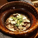 奈良 而今 - 料理写真:☆【奈良 而今】さん…松茸土鍋ご飯(≧▽≦)/~♡☆