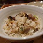 奈良 而今 - ☆良い香りの松茸ごはん☆