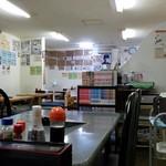 お食事処 膳楽 - 店内です。