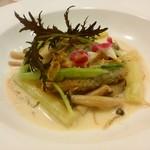 58663526 - 魚料理(白身魚のポワレ・白ワインソース)h28.11.10撮影