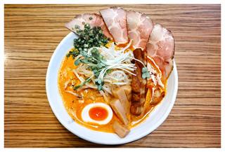 赤シャモジ - 「特製濃熟辛味噌ラーメン」(2016.11)