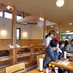 うえんで食堂 - スッキリとした店内(2016年11月)