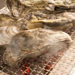 海の家ヒノマル - 炭火焼き牡蠣