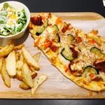 MIX 'n' MATCH CAFE - ピザはムンバイをチョイス!