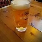 えびすけ - 生ビール