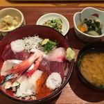 かんころ亭 - 海鮮丼セット