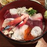 かんころ亭 - 海鮮丼