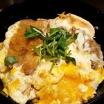 58668176 - ランチ 紅豚カツ丼 アップ