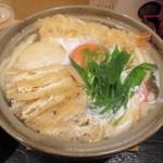 うどん和匠 - 鍋焼きうどん