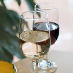 パーラー キムラヤ - 2016.11 セットワインの白と赤