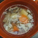 58671382 - 郷土料理の芋煮汁