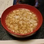 料亭 稲穂 - 八杯豆腐(はぢへどうふ)