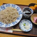 カザマデンキ - 料理写真:「もり(冷)そば \750」