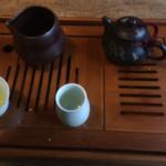 茶縁 - ドリンク写真:茶器セット