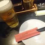 居酒屋 大ちゃん - キリン生ビールです