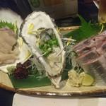 居酒屋 大ちゃん - ホタテ、牡蠣、秋刀魚