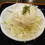 東京厨房 - 付け合せのポテトサラダ